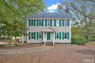 Garner Single Family Home Contingent: 12771 Cleveland Road