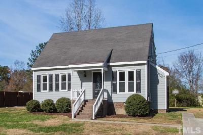 Knightdale Single Family Home For Sale: 212 Sandy Run
