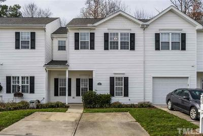 Morrisville Townhouse For Sale: 302 Misty Groves Circle