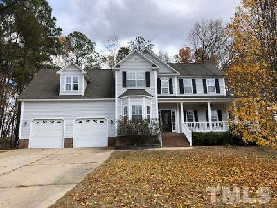 Clayton Single Family Home For Sale: 316 Manchester Trail