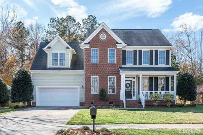 Wake Forest Single Family Home Pending: 9725 Corktree Court