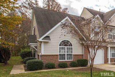 Cary Townhouse Pending: 514 Ringleaf Court