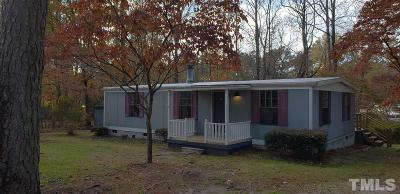 Wake County Manufactured Home For Sale: 5309 Pinewood Court