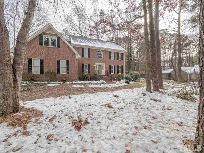 Raleigh Single Family Home For Sale: 1000 Willow Run South Drive