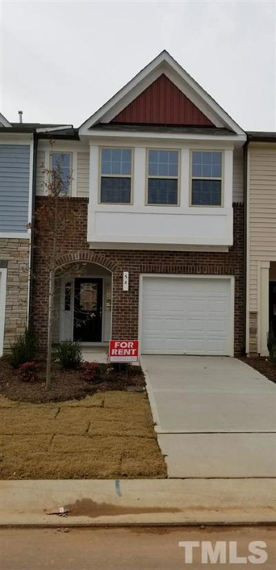 Johnston County Rental For Rent: 54 S Grey Abbey Drive