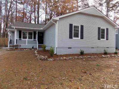 Cary Single Family Home For Sale: 1634 Glengarry Drive