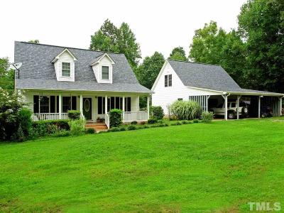 Granville County Single Family Home Contingent: 2529 George Winston Road