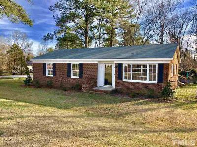 Angier Single Family Home For Sale: 329 Alan Drive