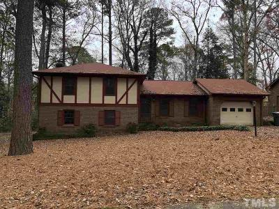 Cary NC Single Family Home For Sale: $250,000
