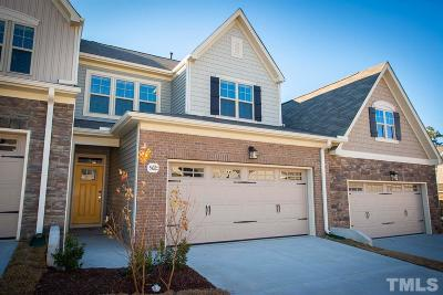 Wake Forest Townhouse For Sale: 565 Brunello Drive #33