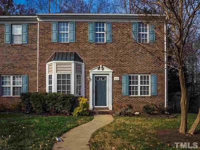 Cary NC Townhouse For Sale: $239,000