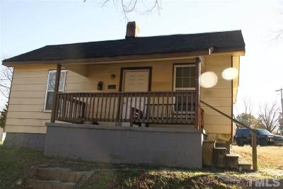 Single Family Home For Sale: 844 Water Street