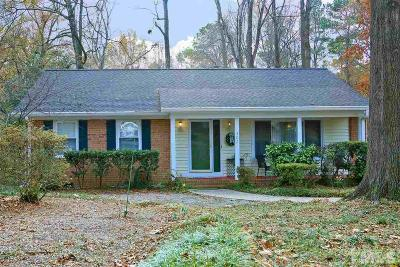 Cary NC Single Family Home For Sale: $315,000