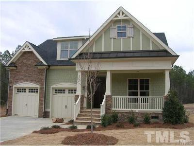 Fuquay Varina Single Family Home For Sale: 2704 Blueridge Lake Drive