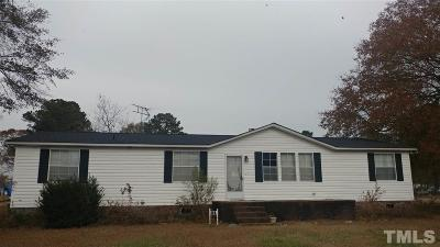 Harnett County Manufactured Home For Sale: 227 E South Street