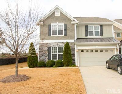 Wake Forest Townhouse For Sale: 301 Hammond Oak Lane
