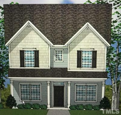 Wake County Single Family Home Pending: 3108 Thurman Dairy Loop #Lot 302