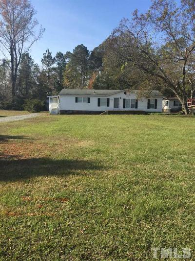 Harnett County Manufactured Home For Sale: 3762 Nc 55 East