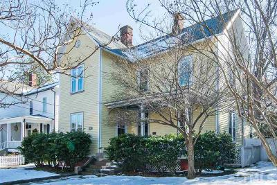 Raleigh Single Family Home For Sale: 312 E Jones Street