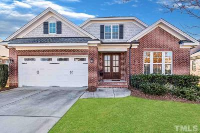 Wake County Single Family Home For Sale: 216 Sonoma Valley Drive