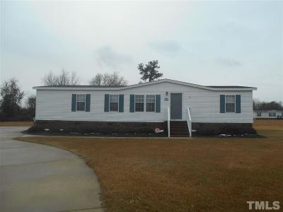 Johnston County Manufactured Home For Sale: 106 Rosewood Court