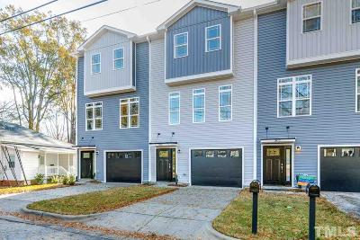 Wake County Townhouse For Sale: 305 Holloway Street