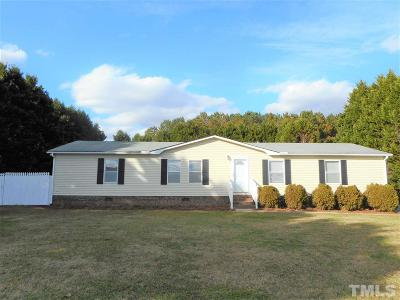 Johnston County Manufactured Home For Sale: 5695 Rains Crossroads Road