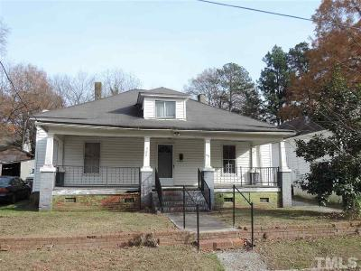 Durham Single Family Home For Sale: 302 Cherry Grove Street