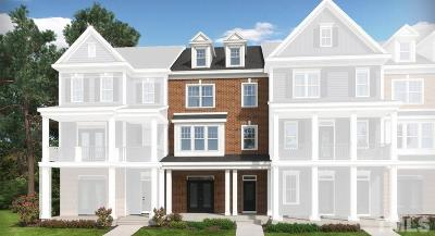 Wake County Townhouse For Sale: 2907 Great Lawn Road #Lot 74-B