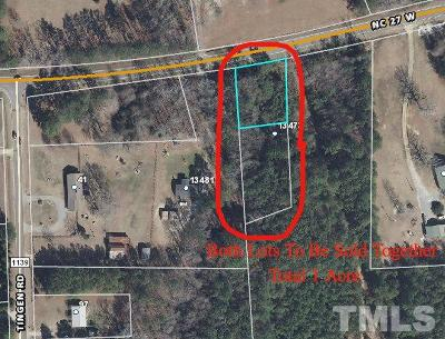 Harnett County Residential Lots & Land For Sale: 13473 W Nc 27