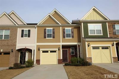 Apex Townhouse For Sale: 103 Pleasant Glen Lane