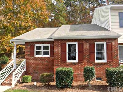 Raleigh NC Townhouse For Sale: $180,000