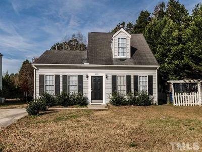Wake County Single Family Home For Sale: 8345 McGuire Drive