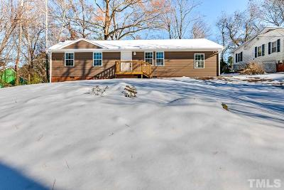 Durham Single Family Home For Sale: 2903 Sprucewood Drive