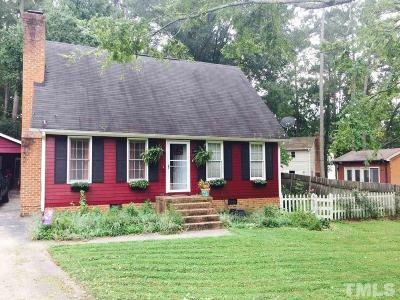Durham Single Family Home For Sale: 4219 Hope Valley Road