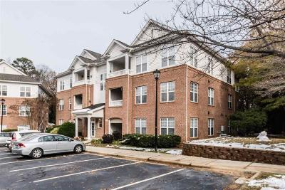 Wake County Condo For Sale: 1721 Tiffany Bay Court #102