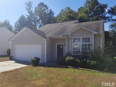 Raleigh Single Family Home For Sale: 3908 Tyler Bluff Lane