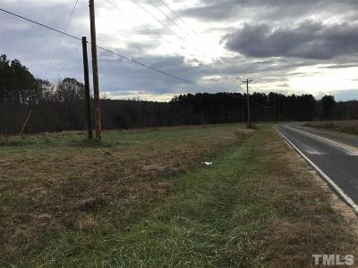 Durham County Residential Lots & Land For Sale: 10020 South Lowell Road