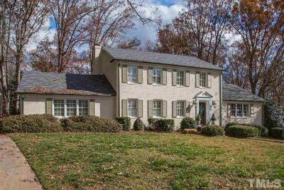 Wake County Single Family Home For Sale: 400 May Court