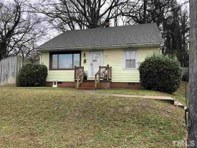 Durham Single Family Home For Sale: 912 Camden Avenue