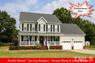 Single Family Home For Sale: 607 N Nc 581 Highway