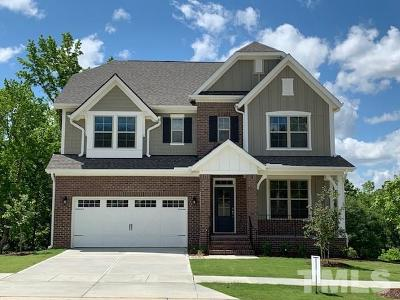 Wake Forest Single Family Home For Sale: 120 Woodstaff Avenue #Lot 35