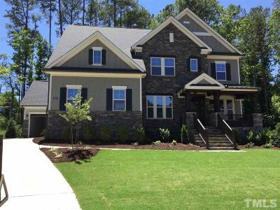 Raleigh Single Family Home For Sale: 1605 Keyworth Court #Lot 9