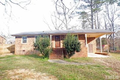 Sanford NC Single Family Home For Sale: $40,000