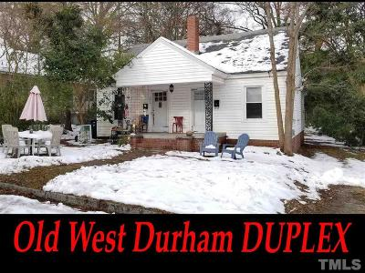 Durham Multi Family Home For Sale: 2636 Lawndale Avenue