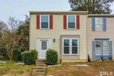 Cary NC Townhouse For Sale: $167,000