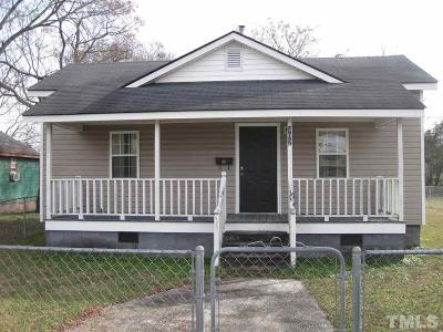 Dunn Single Family Home For Sale: 302 N Elm Street