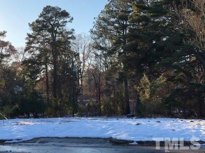 Raleigh Residential Lots & Land For Sale: 1801 Lynn Road