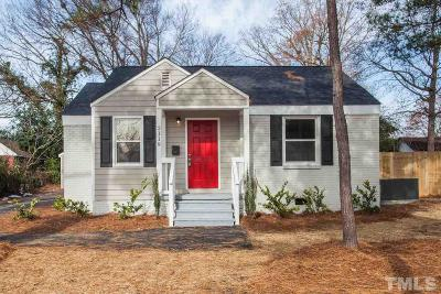 Raleigh Single Family Home For Sale: 2119 Milburnie Road