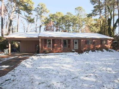 Raleigh Single Family Home For Sale: 5000 Glen Forest Drive